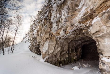 Зимняя экскурсия в Ширяево