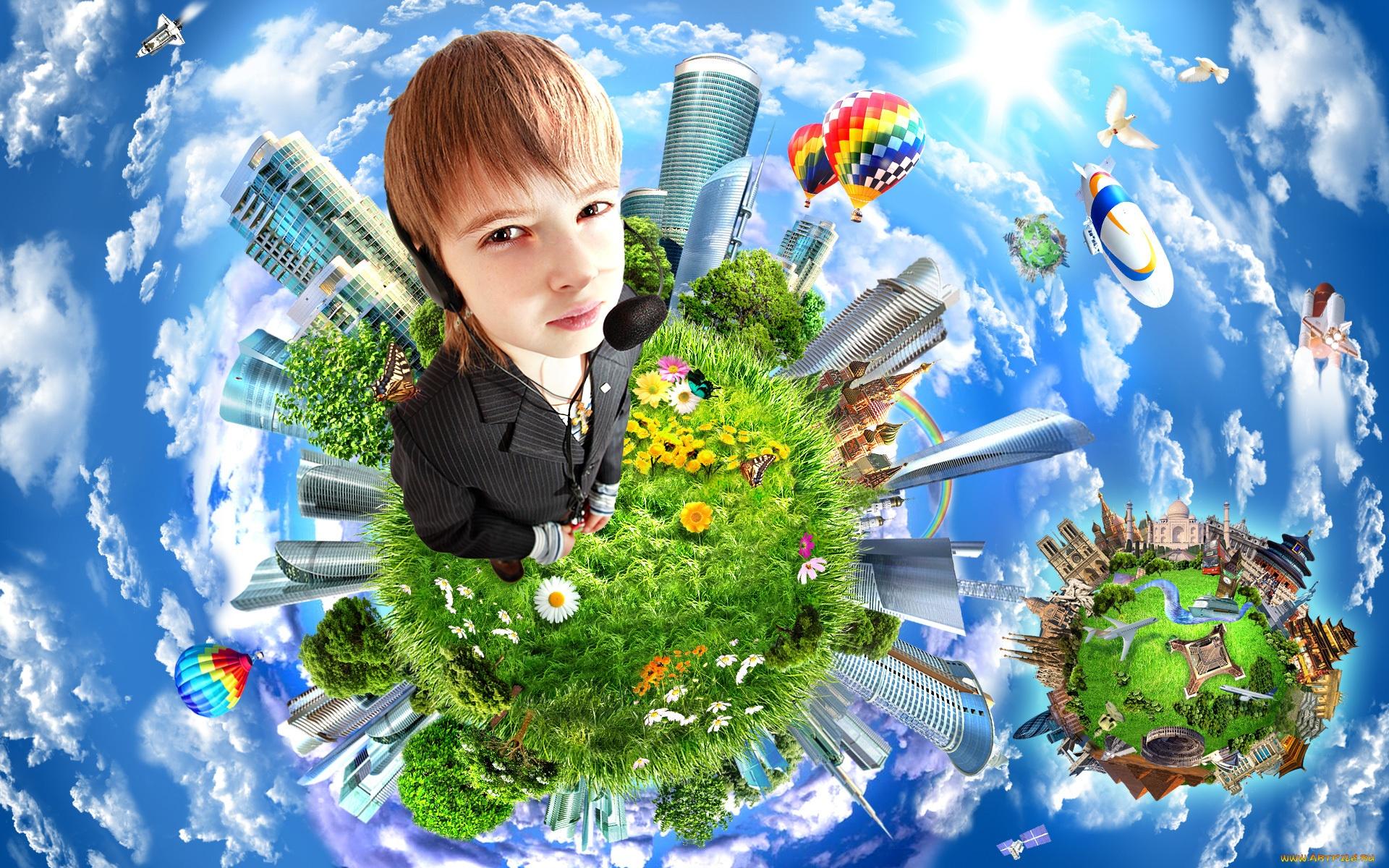 Человек часть природы картинки для детей